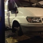 ford transit welding fabrivation