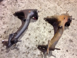 Classic Mini radius arm replacement