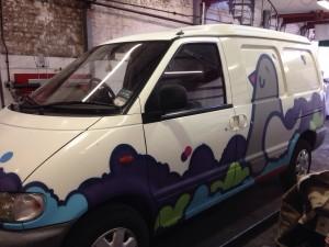Nissan Van Sill Repairs