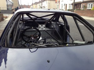 weld-in roll cage