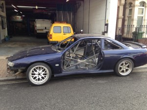 Nissan 200SX fabrication & welding