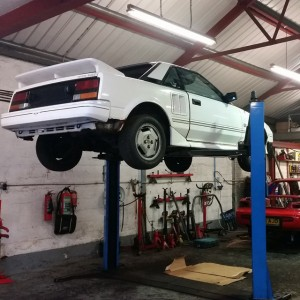Toyota MR2 repairs