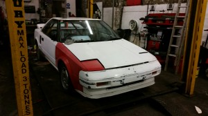 toyota mr2 bodywork