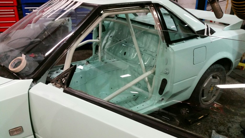 toyota mr2 challenge roll cage