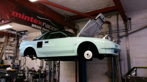 toyota mr2 body repairs