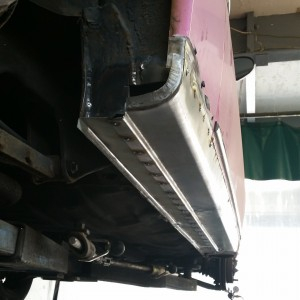 nissan fabricated sills