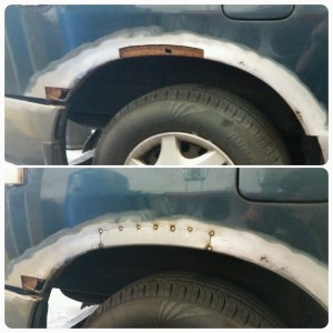 fabricated wheel arch repairs portsmouth