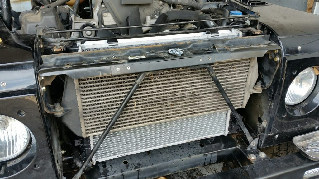 land rover radiator replacement hampshire
