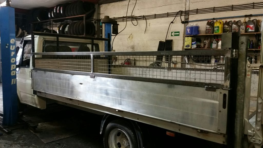 flatbed truck fabrication and welding
