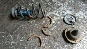 Renault Megane MOT work coil spring