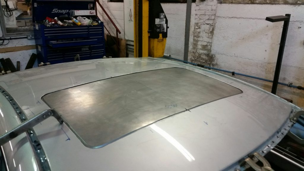 sun roof fabrication