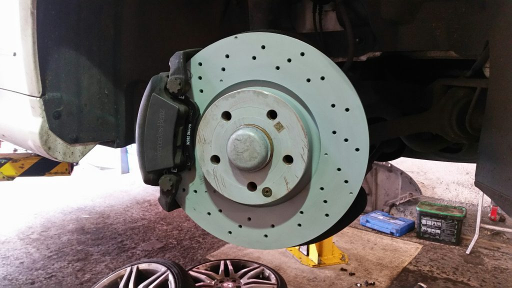 mercedes brake discs and pads portsmouth hampshire