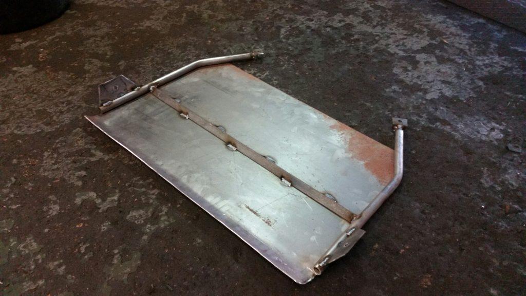 sump guard fabrication